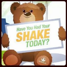 Take a shake a day, your body will thank you on the long run.