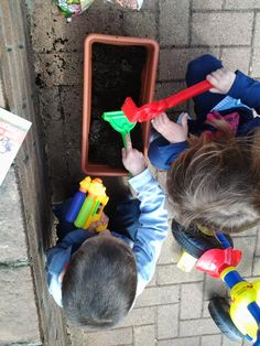 Seminare e coltivare....un'attività da far fare assolutamente ai bambini