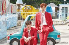 "Shinwon & Yanan | ""Ceremony"" Jacket Shooting Behind The Scenes"
