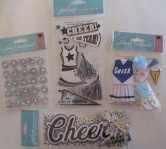 Jolee's Boutique EK Success Scrapbooking Stickers Lot CHEERLEADER…