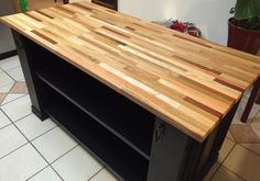Kitchen Island - Woodworking creation by TonyCan