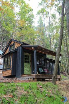 Coast2Coast Prepper — riddick09: A tiny cedar shake siding cabin this...