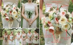 Bouquet Breakdown - Vintage Peach DIY Bouquet