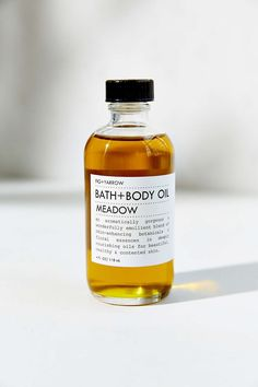 Fig + Yarrow Bath & Body Oil [$42]   Ingredients: Oils of hemp seed, olive fruit, grape seed, avocado seed; yarrow, comfrey, horsetail, calendula, rosemary leaf extract, Tocopheral (vitamin e, GMO-free), essential oils of cypress, atlas cedar, juniper, vetiver, carrot seed, amyris, patchouli