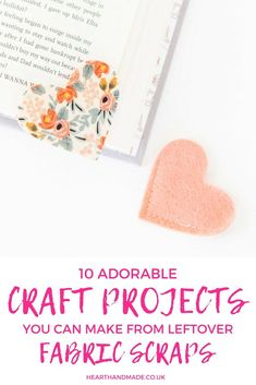Are you trying to find some rather excellent patchwork project ideas to use up your scrap fabrics? This post was written for you! Diy Craft Projects, Project Ideas, Sewing Projects, Craft Ideas, Sewing Tutorials, Sewing Ideas, Decor Crafts, Crafts For Kids To Make, Crafts To Sell