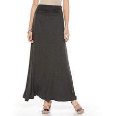 HAVE THIS AB Studio Ruched Maxi Skirt - Women's