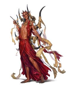 Contract Devil - Pathfinder PFRPG DND D&D 3.5 5th ed d20 fantasy