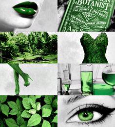 DC Aesthetics    Pamela Isley/Poison Ivy