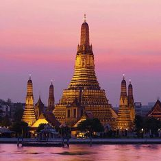 Golden city. Bangkok Thailand. #travelnoire #bangkok