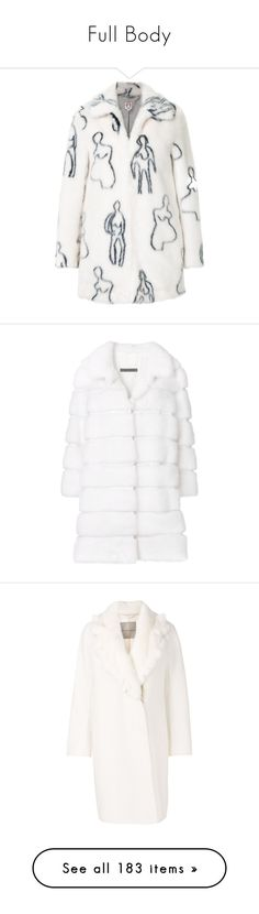 """""""Full Body"""" by charl-ze ❤ liked on Polyvore featuring outerwear, coats, white, mac coat, white rain coat, white raincoat, rain coat, vetements raincoat, coats & jackets and shrimps coat"""
