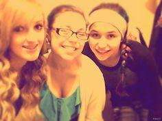 Me, Kora and Amara <3 2/15/14