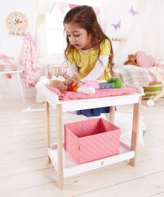 Doll Baby Changing Table