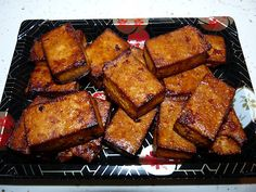 Baked or Grilled Marinated Tofu