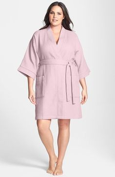 Nordstrom Waffle Cotton Robe (Plus Size) available at #Nordstrom