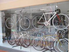 Singapore: Bike shop window by f1nuttah, via Flickr