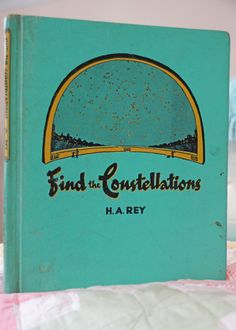 Find The Constellations Childrens Book. $6.00, via Etsy.