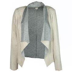Gipsy Damen Wildleder Blazer / Form: Lousha / Farbe: hellbeige / im Gipsy Online Shop