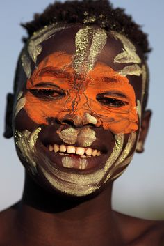 Afrika - Ethiopian Tribe, Surma , Suri #world_cultures