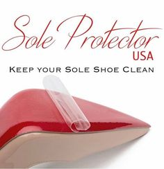 Crystal Clear Sole Protector Guard for Christian Louboutin Red Bottom HEELS for sale online Christian Louboutin Red Bottoms, Christian Louboutin Women, Red Louboutin, Rhinestone Sandals Flats, Embellished Sandals, Red Sole Heels, Women's Shoes, High Heel Protectors, Home