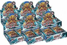 Amazon.com: YuGiOh Number Hunters Booster Box (24 Packs): Toys & Games