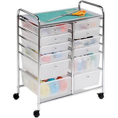 Rolling cart for things you use all the time ... 12 Awesome Ways to Store Things in Your Craft Room | eBay