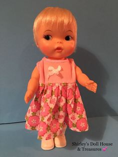 RARE Vintage Ideal 1967 HONEYBALL Doll 💕 M-9-H-74 1966 #Ideal