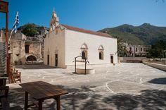 Piso Moni Preveli Monastery, Rethymnon, Crete, Greece.