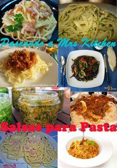 Salsas Para Pasta – Paseando a Mrs Kitchen
