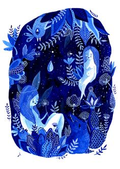 The Blue Period by Aitch, via Behance