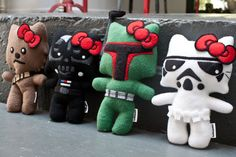 Hello Wars Plushies - by hellowars on Etsy, $35 each