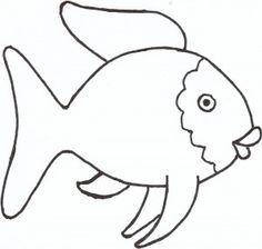 The Rainbow Fish Template