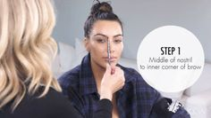 Kim Kardashian's eyebrow guru, Anastasia Soare offers her best secrets for getting perfect brows in this video. If it works for Kim, it works for Us — get the tips!