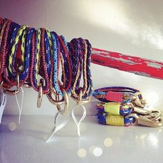 """""""The Portland"""" bracelets by The ROPES - Maine Made Nautical Bracelets available at Bliss! #theropesmaine"""