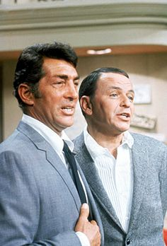 """Dean Martin with Frank Sinatra - Taping of """"The Dean Martin, Frank Sinatra Christmas Special"""" - Hollywood, California - 1967"""