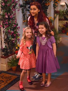Sam and Cat Vs. The Brit Brats | All together now|These girls may have their differences, but they have ...