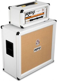 Orange Limited Edition White Amps & Cabs