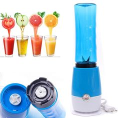 Simple  Portable Blenders : The Best Price Mini Multifunction Portable Blenders Fruit