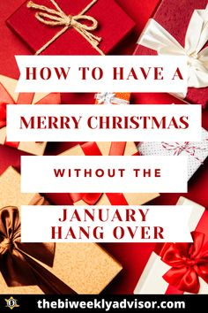 Avoid the January hang over, plan a very Merry Christmas. We will walk you through the process so that your holiday can be merry. #christmas #budget #debt #plan Christmas Planning, Christmas On A Budget, Merry Christmas To You, Last Christmas, Christmas Cards, Extra Holidays, Let The Fun Begin, Family Budget, Make A Gift