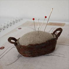 Little Basket Pincushion