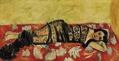 The Black Shawl (Lorette VII), 1918, Henri Matisse