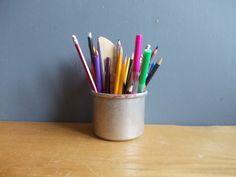 Vintage Desk organizer / Pencil organizer / Office by EUvintage