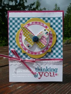 Megumi's Stampin Retreat: Kind & Cozy Butterfly Card & Free Stamp Set of the Month Winner