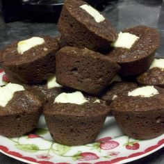 2 Bite Brownies With Cream Cheese Filling