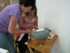 Idrija lace making