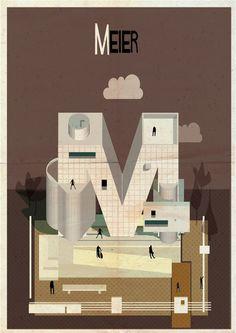 Galeria - Archibet: um alfabeto ilustrado da Arquitetura - 131
