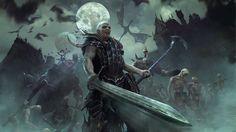 Vampire Counts are Total War: Warhammer's fourth playable race Warhammer 40k, Warhammer Fantasy, Fantasy World, Dark Fantasy, Fantasy Art, Vampires, Tolkien, Warhammer Vampire Counts, Guerra Total