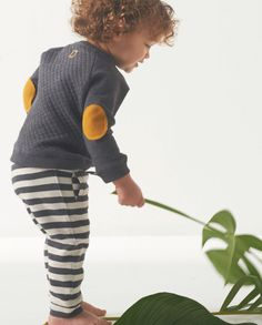 Mister Monkey and Misses Butterfly - baby- en kinderkleding - Lookbook - Inspiratie voor die schattige of stoere look | Mr Monkey & Mrs Butterfly - AW16 - Kids - Boys - Little Label - Sweater - Grey - Pattern