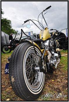 Old School Chopper #biker #harley