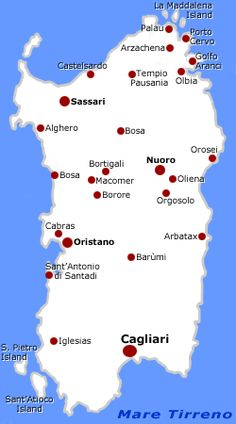 The Isle of Sardinia by http://www.bbcalagonone.com Sardegna