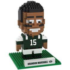 Brandon Marshall New York Jets 3D Player BRXLZ Puzzle